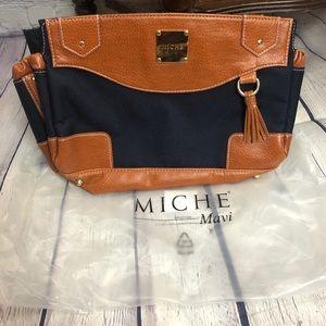Miche Classic Cover Mavi, New! Blue and Brown